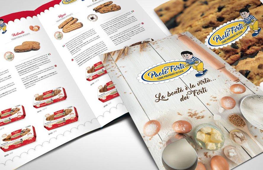Biscotti paolo forti Agenzia urso pubblicità e marketing comunicazione web page branding advertising promotion company image identity campagne pubblicitarie media cataloghi e-commerce logo social media