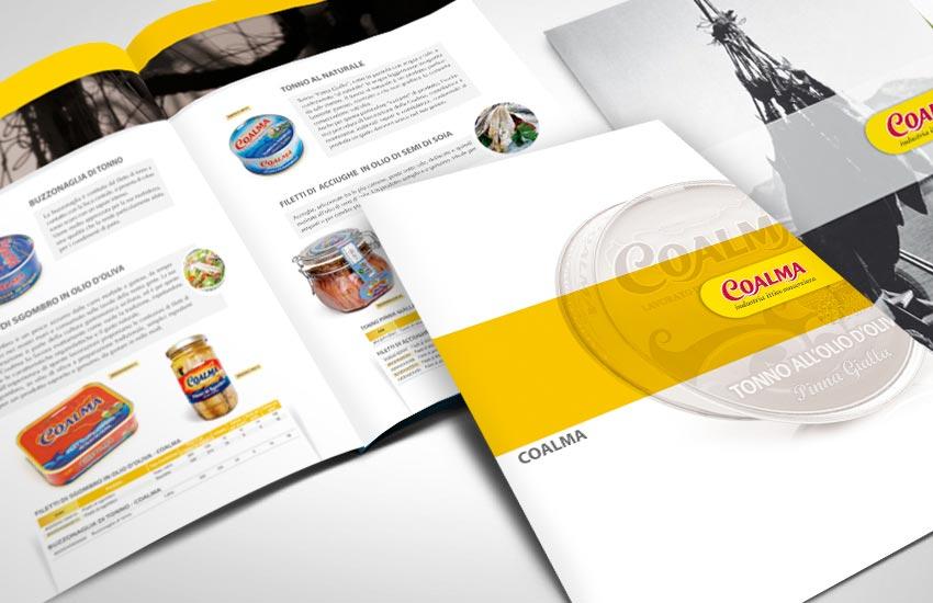 urso pubblicità creazione catalogo Coalma