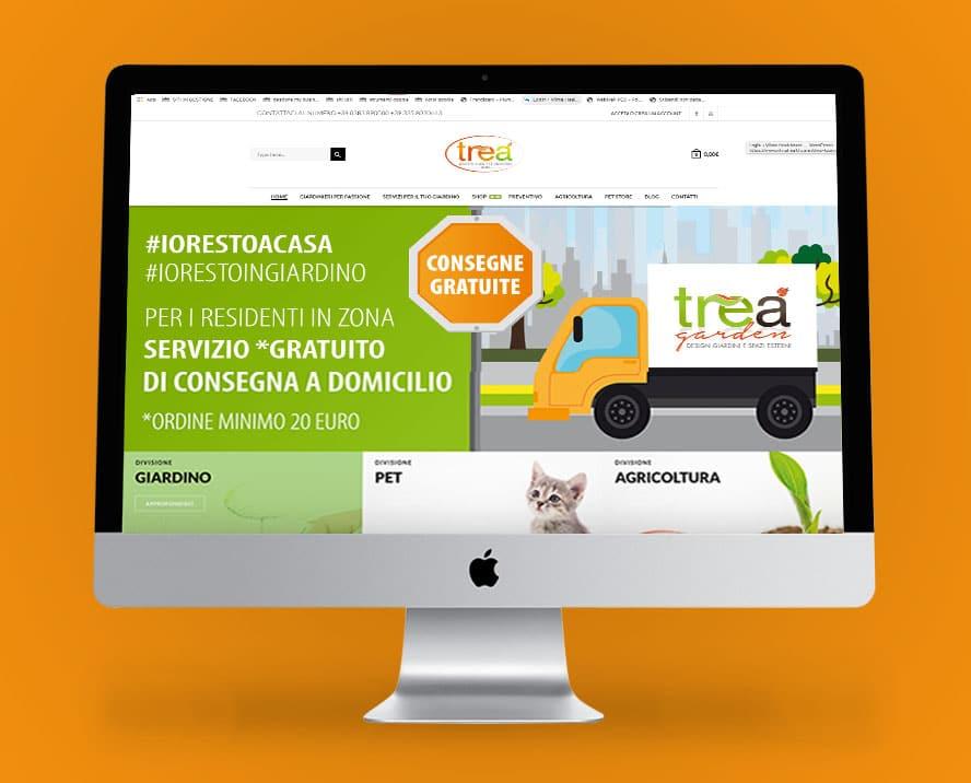 trea sito ecommerce per vendita prodotti giardinaggio